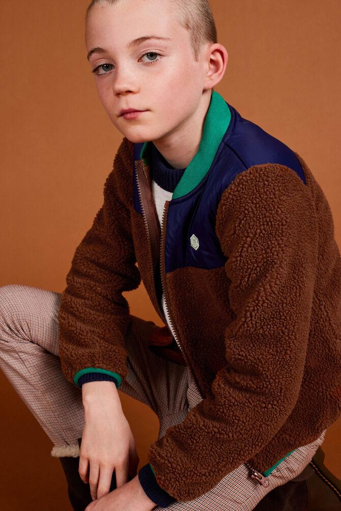 CKS KIDS - YISTER - Korte jacket - bruin