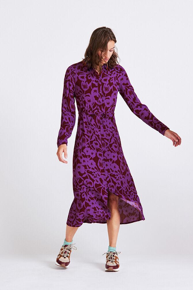 CKS WOMEN - MAXIMA - Robe longue - violet