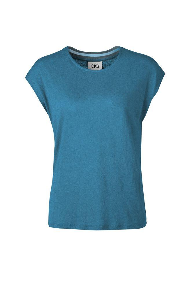 CKS WOMEN - JARKA - T-shirt manches courtes - bleu