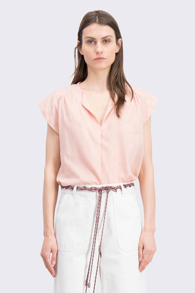CKS WOMEN - FIDAN - Blouse korte mouwen - roze
