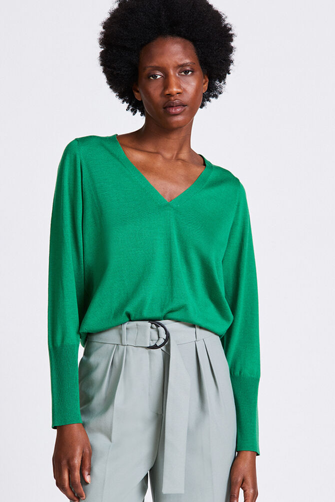 CKS WOMEN - TERESSA - Pullover - groen