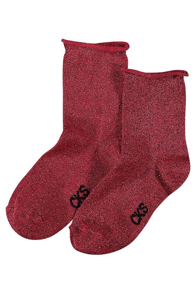 CKS WOMEN - AZUZA - Socks - bordeaux