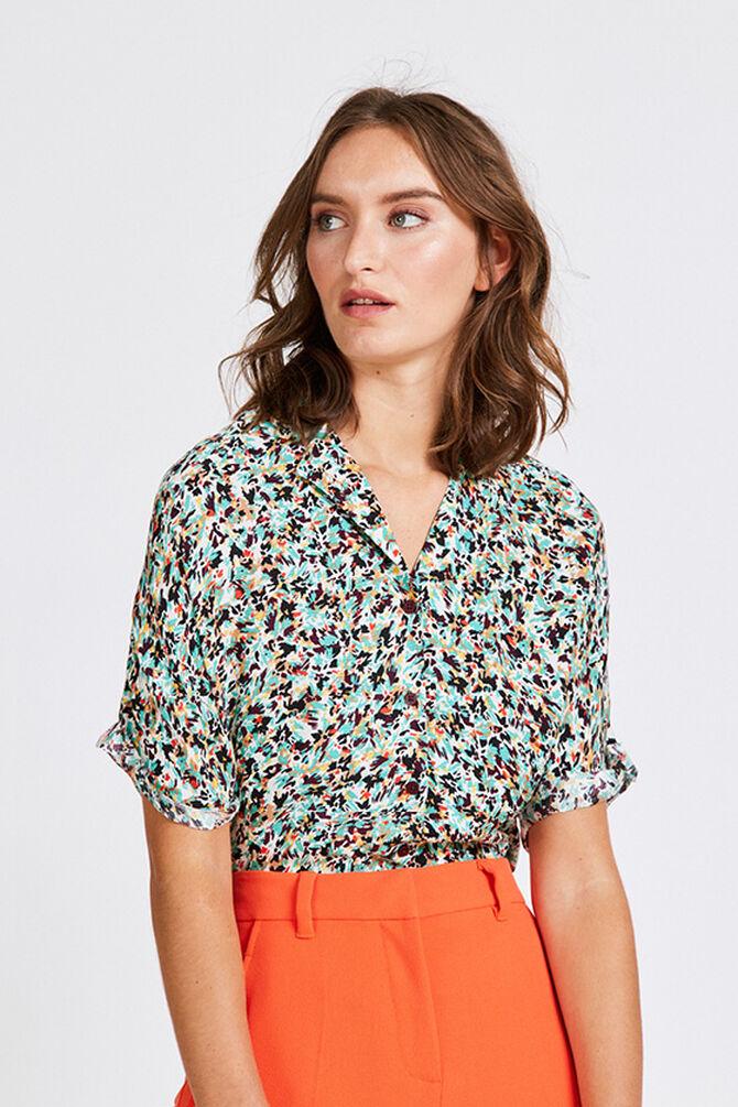 CKS WOMEN - RONELA - Blouse korte mouwen - multicolor