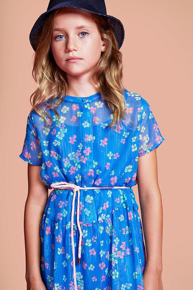 CKS KIDS - ISAURA - Maxi dress - blue