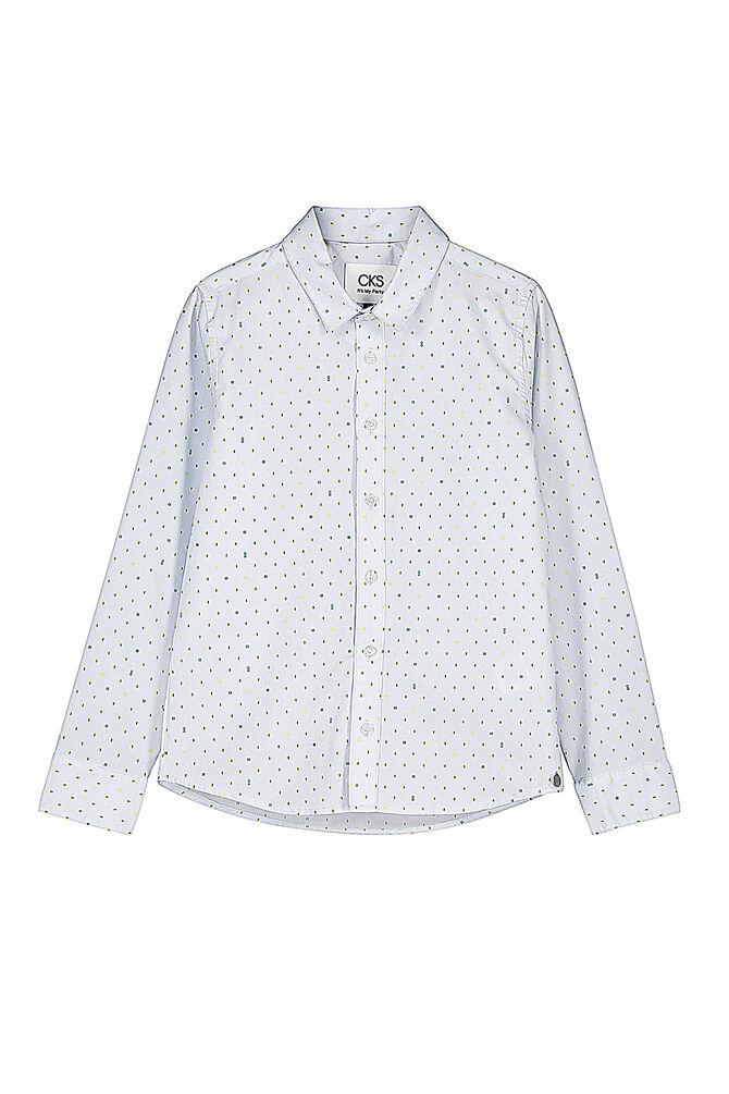 CKS KIDS - BOTAN - Hemd lange Ärmel - Blau