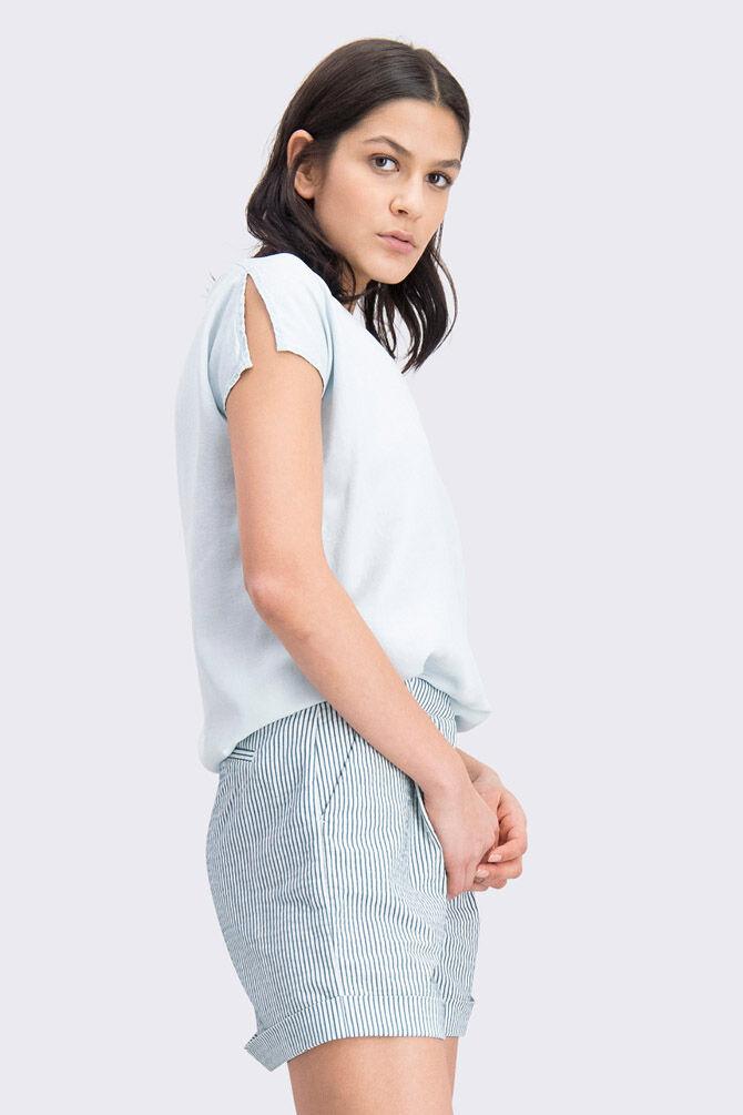 CKS WOMEN - RAFA - Blouse zonder mouwen - blauw