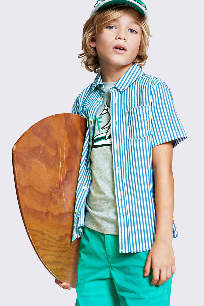 CKS KIDS - YERBERT - T-shirt short sleeves - grey