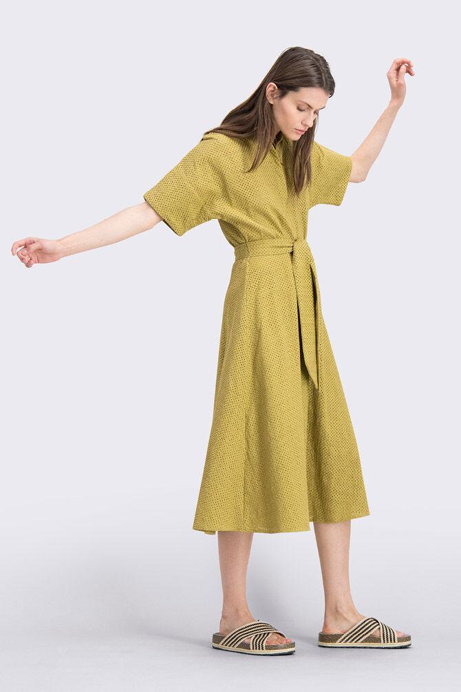 CKS WOMEN - NAMASTI - Dress long - green