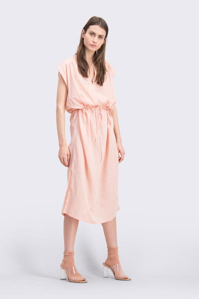 CKS WOMEN - FARHA - Robe longue - rose