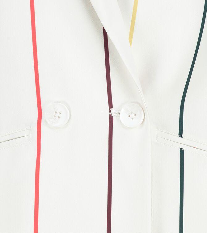CKS WOMEN - LAGARUS - Blazer long - white