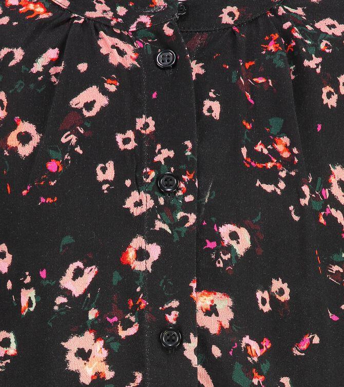 CKS KIDS - GOISA - Blouse lange mouwen - zwart