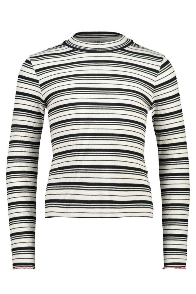 CKS KIDS - CHESSAS - T-shirt lange mouwen - zwart wit
