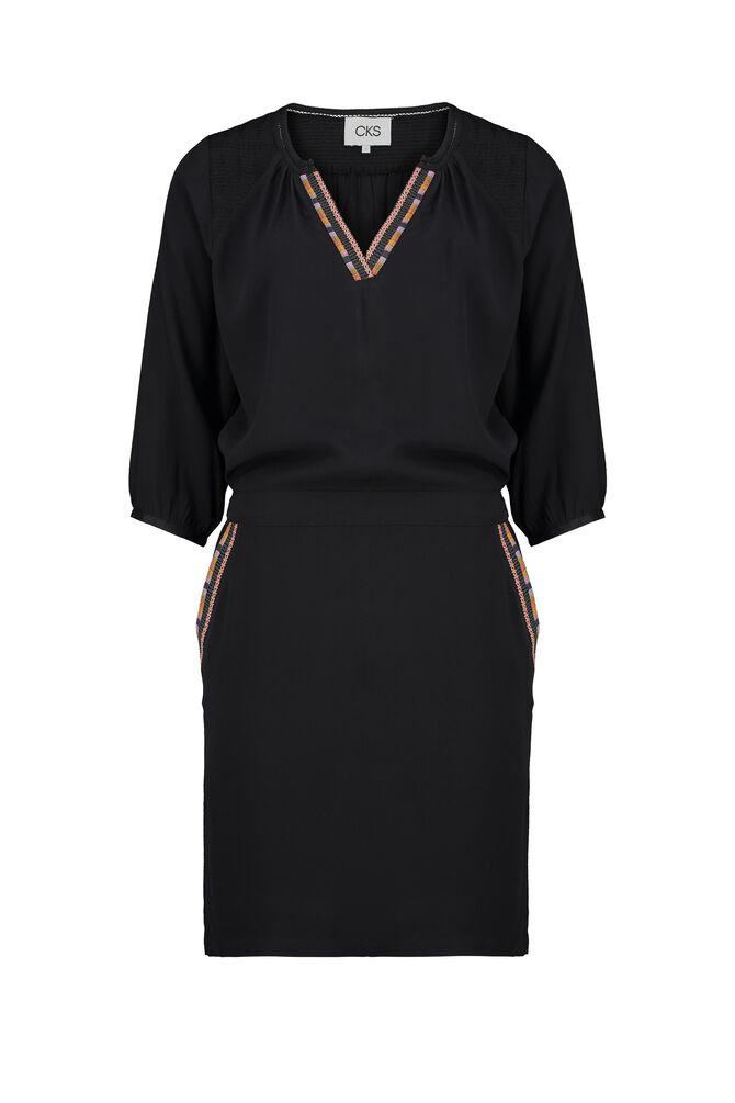CKS WOMEN - RADELLA - Korte jurk - zwart