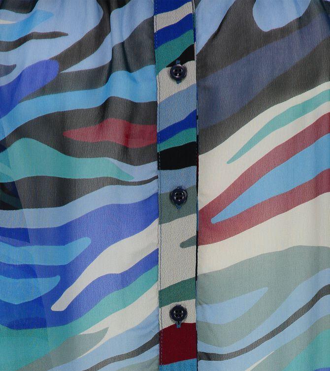 CKS WOMEN - PYRNILLE - Blouse lange mouwen - blauw