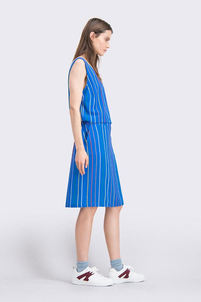 CKS WOMEN - FELIZ - Kleid kurze - Blau