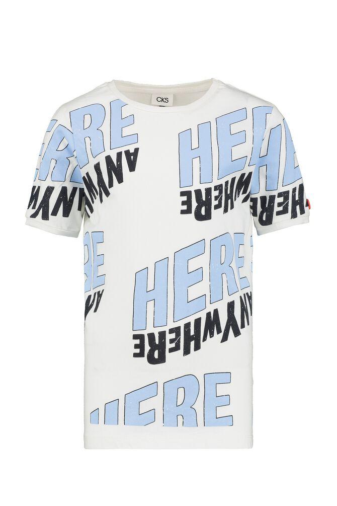 CKS KIDS - YARTHUR - T-shirt short sleeves - white