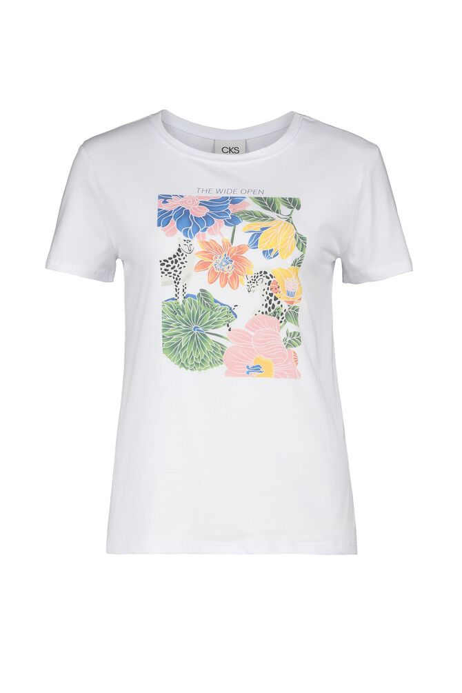 CKS WOMEN - FANKA - T-shirt short sleeves - white