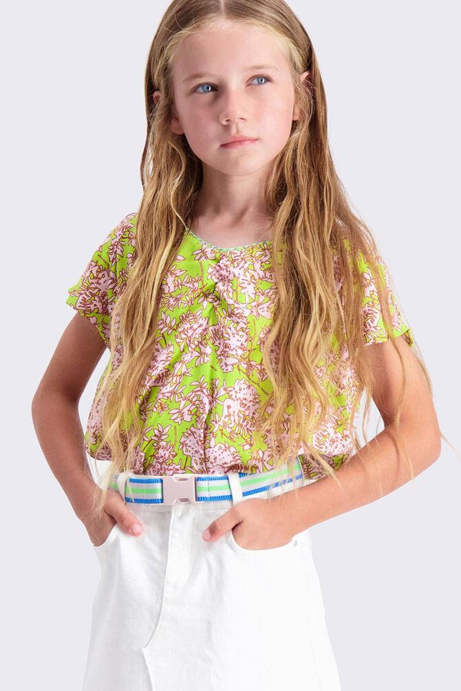 CKS KIDS - ILANKA - Blouse short sleeves - multicolor