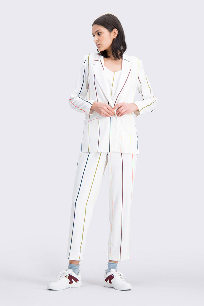 CKS WOMEN - LILIANA - Trousers long - white