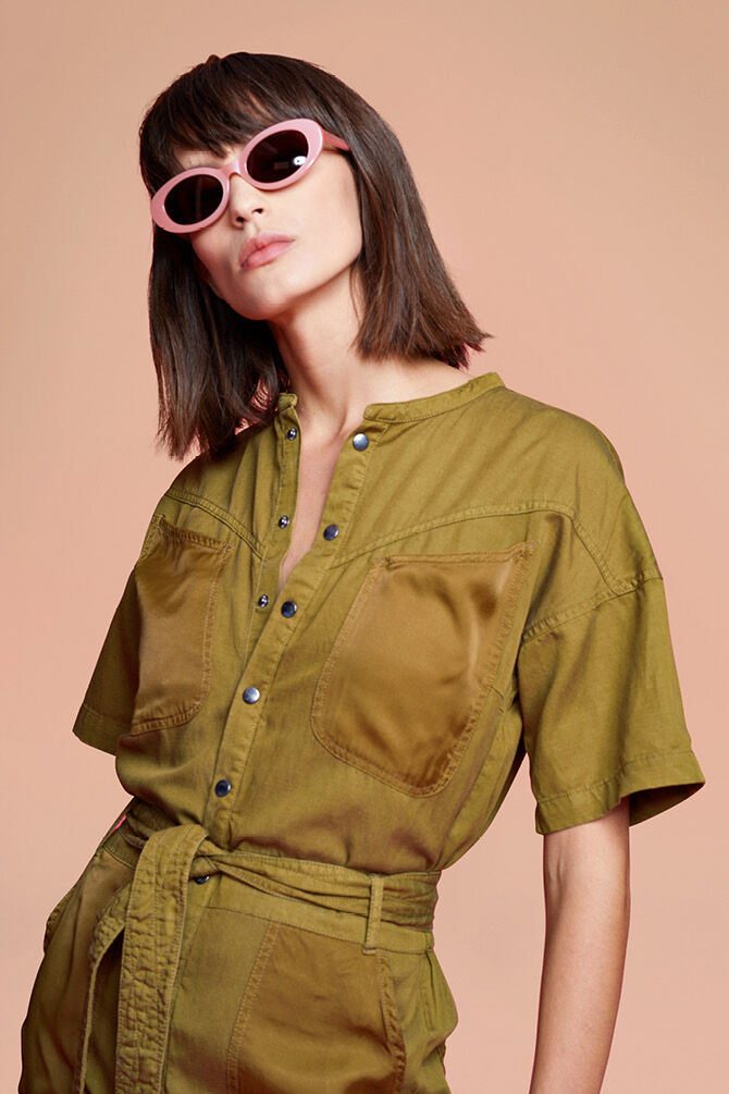 CKS WOMEN - RAFAH - Jumpsuit - green