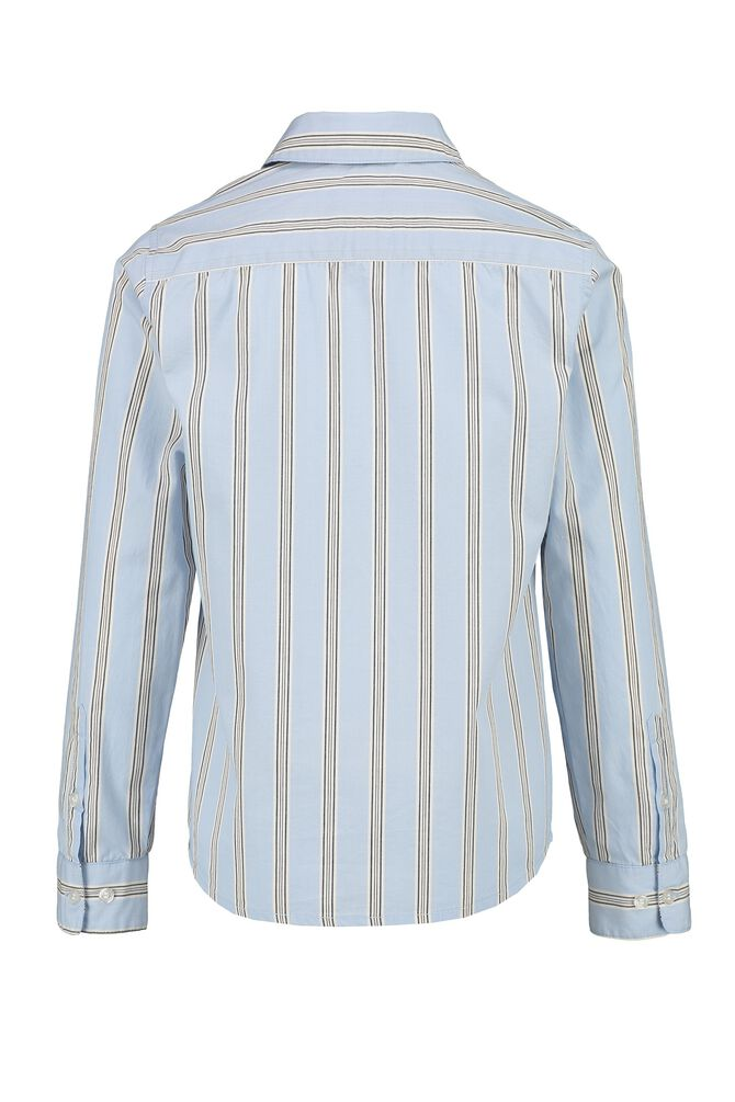 CKS KIDS - BOSERTO - Shirt long sleeves - blue