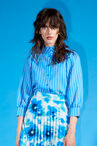CKS WOMEN - ROSALINU - Blouse long sleeves - blue