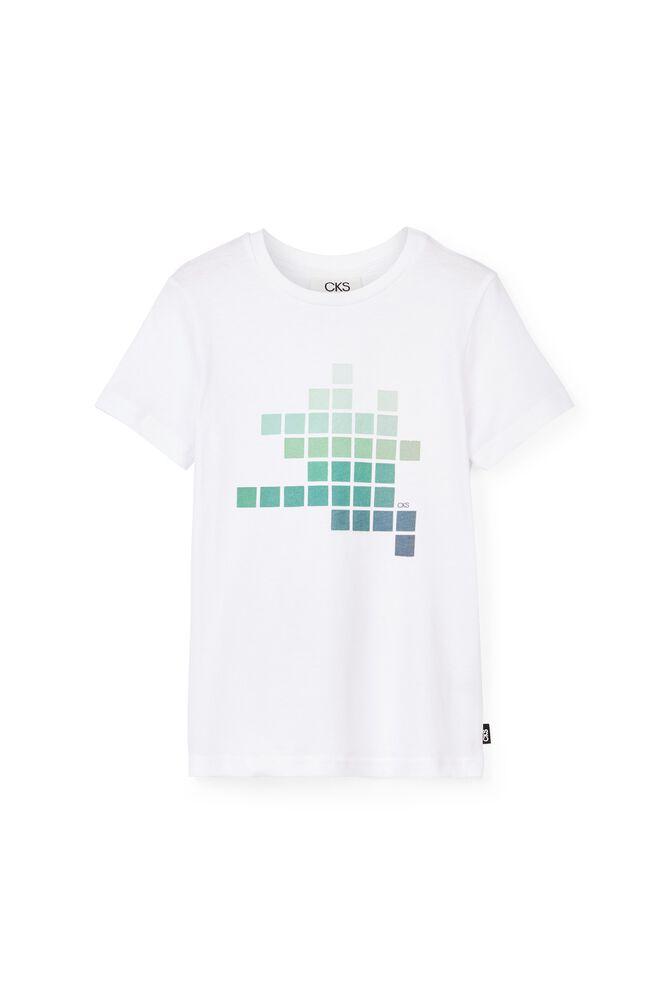 CKS KIDS - YELTE - T-shirt korte mouwen - wit