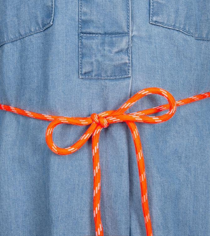CKS KIDS - CLASH - Lange jurk - blauw