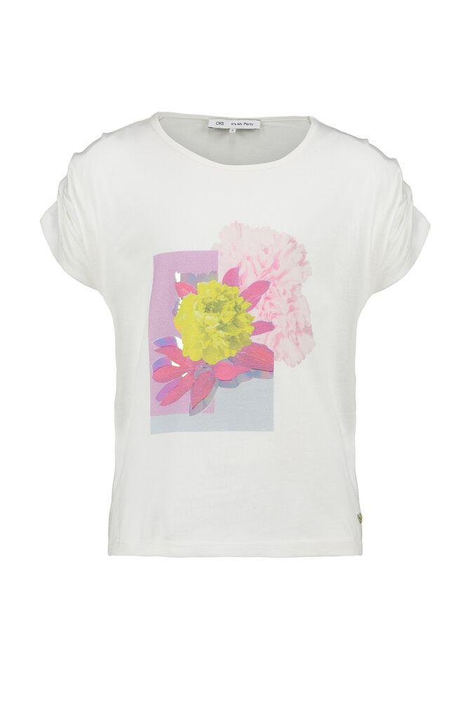 CKS KIDS - AILISE - T-shirt korte mouwen - wit