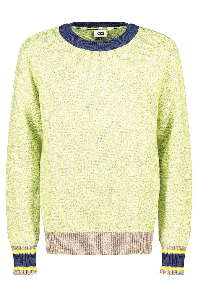 CKS KIDS - BERRET - Pullover - geel
