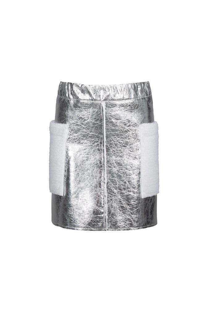 CKS KIDS - CARRIE - Korte rok - zilver