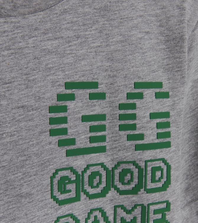 CKS MEN - GOODGAME - T-Shirts manches courtes - GREY MELEE