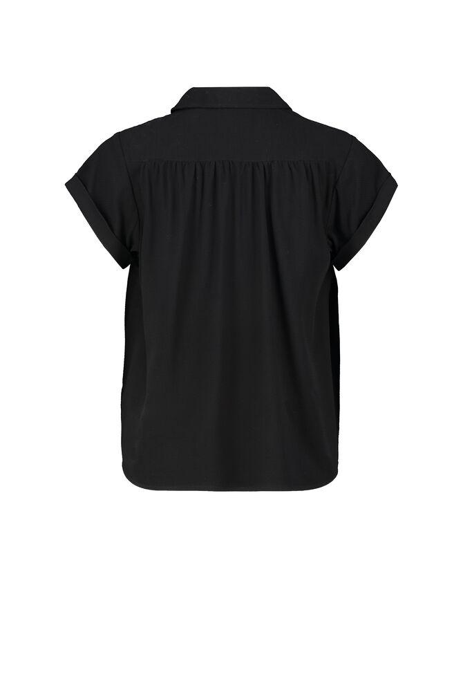 CKS WOMEN - LANDRY - Blouse korte mouwen - zwart
