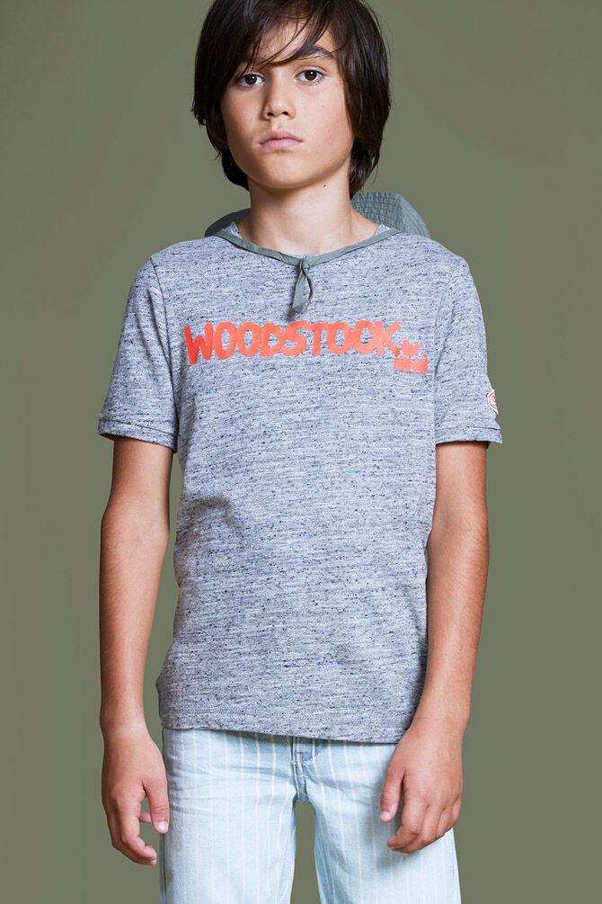 CKS KIDS - YURI - T-shirt korte mouwen - grijs