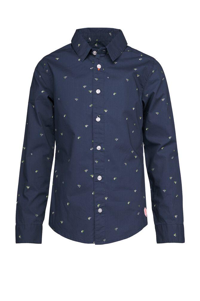 CKS KIDS - BOTAN - Overhemd lange mouwen - blauw