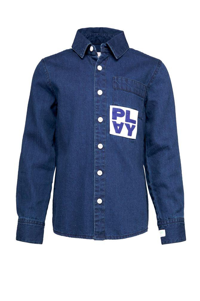 CKS KIDS - YORSAN - Overhemd lange mouwen - blauw
