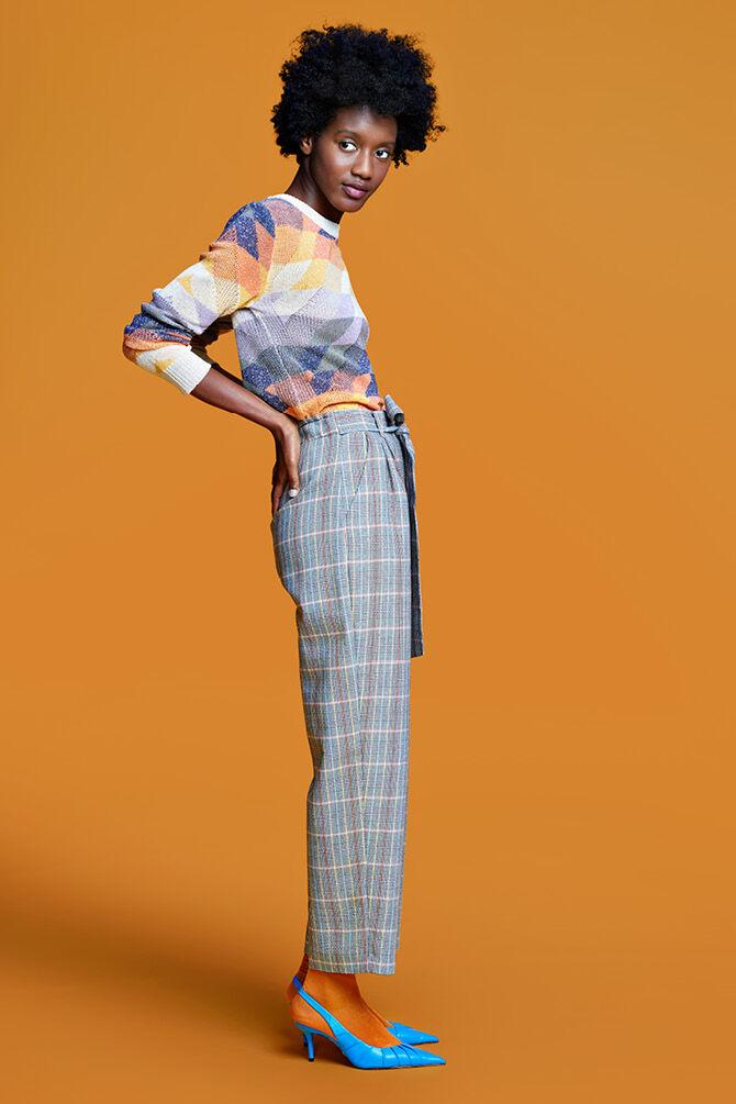 CKS WOMEN - LACEE - Lange broek - multicolor