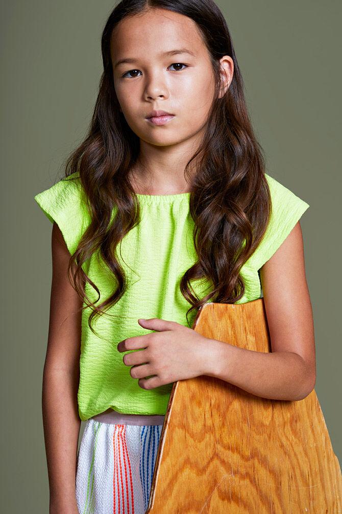 CKS KIDS - INORA - T-shirt korte mouwen - geel