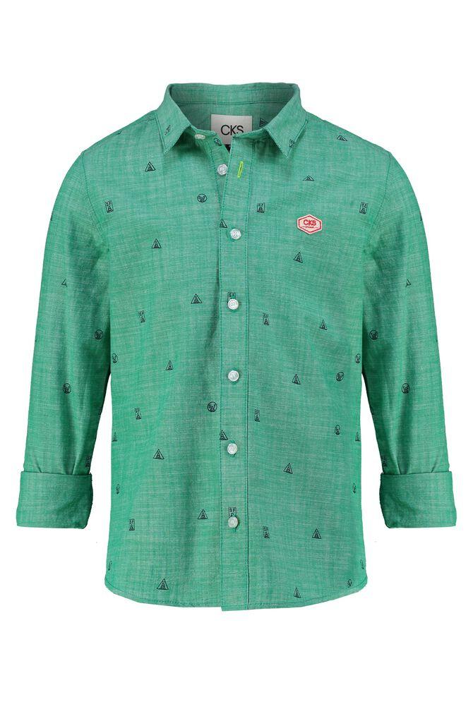 CKS KIDS - BATAN - Shirt long sleeves - green
