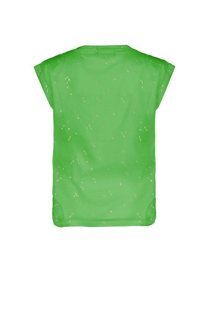 CKS WOMEN - FIDAN - Blouse korte mouwen - groen