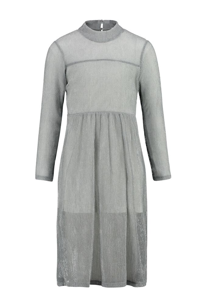 CKS KIDS - DAKOTA - Maxi dress - silver