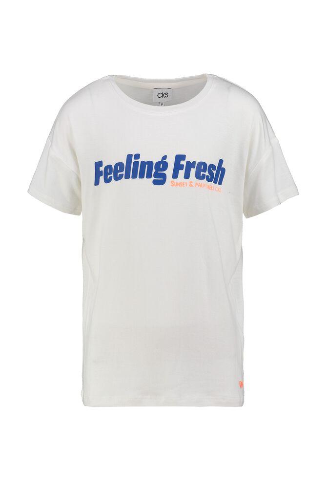 CKS KIDS - INNERA - T-shirt manches courtes - blanc