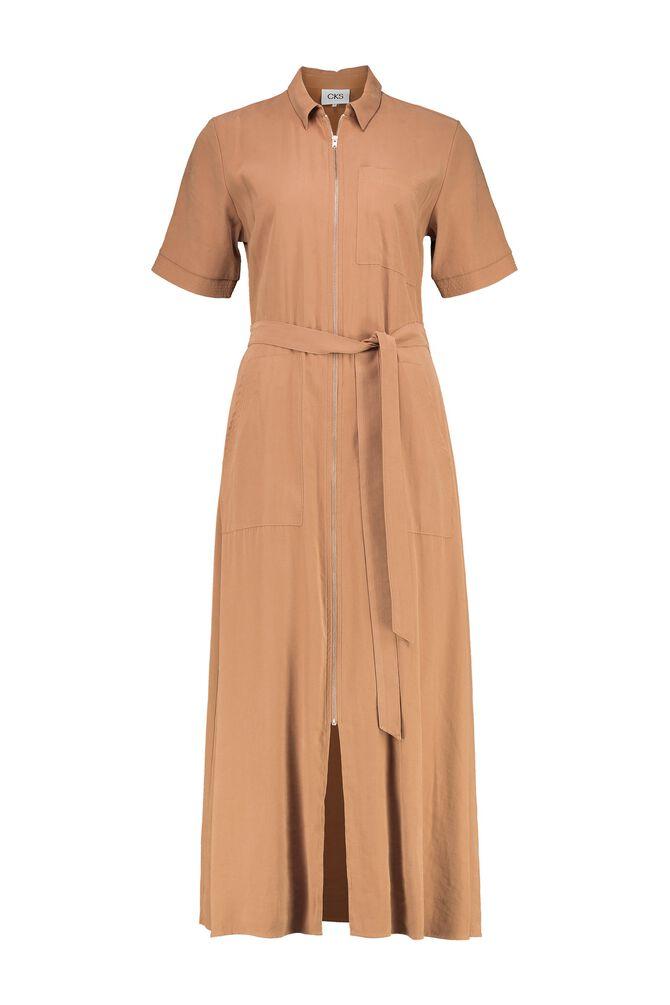 CKS WOMEN - RUMY - Lange jurk - beige