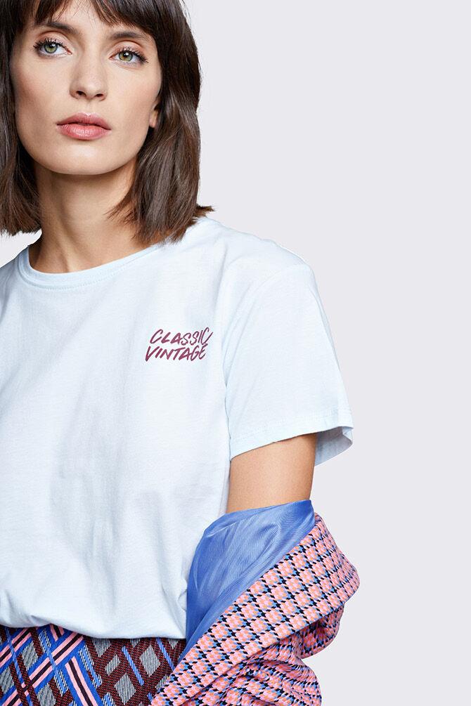 CKS WOMEN - LEAH - T-shirt short sleeves - blue