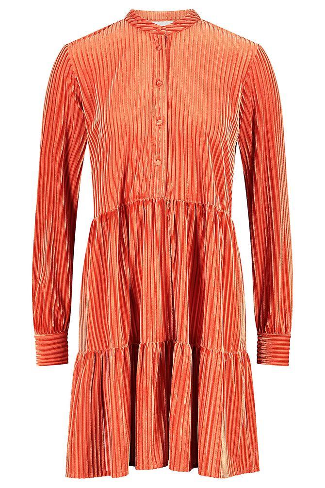 CKS WOMEN - ROLDO - Korte jurk - rood