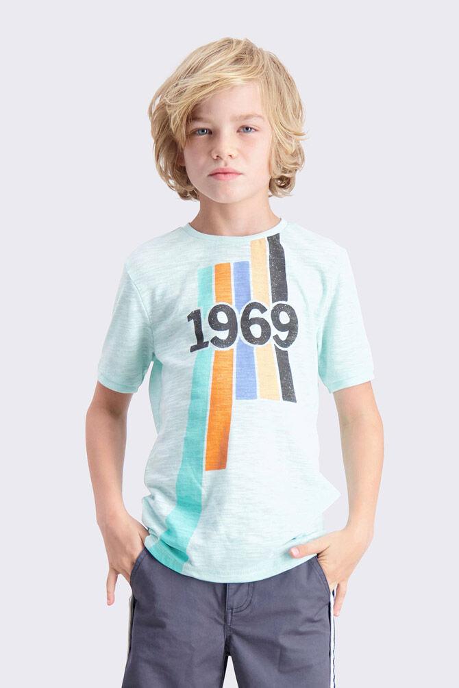 CKS KIDS - YVES - T-shirt manches courtes - vert