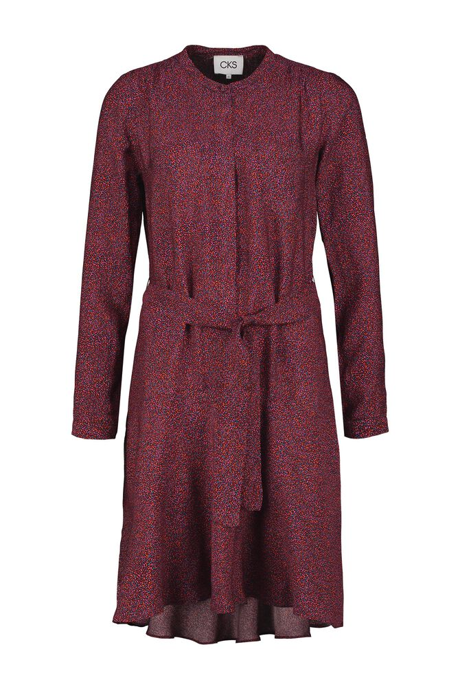 CKS WOMEN - ROME - Korte jurk - bordeaux