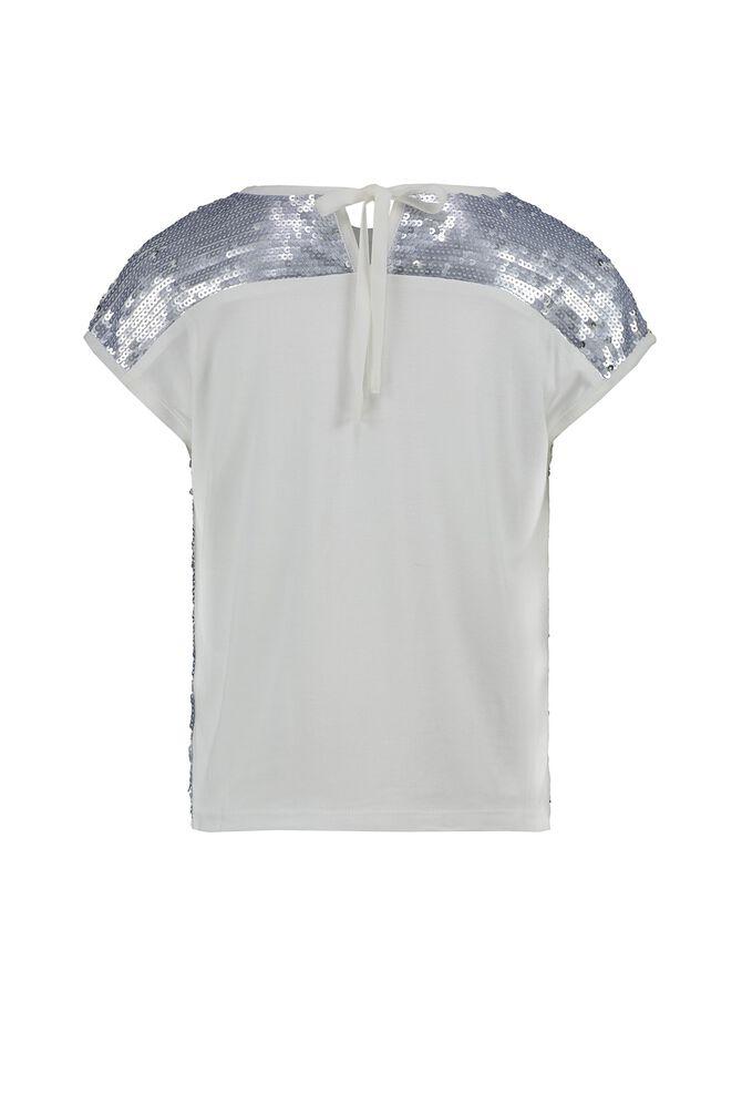 CKS KIDS - ABIGAIL - Bluse kurze Ärmel - Silber