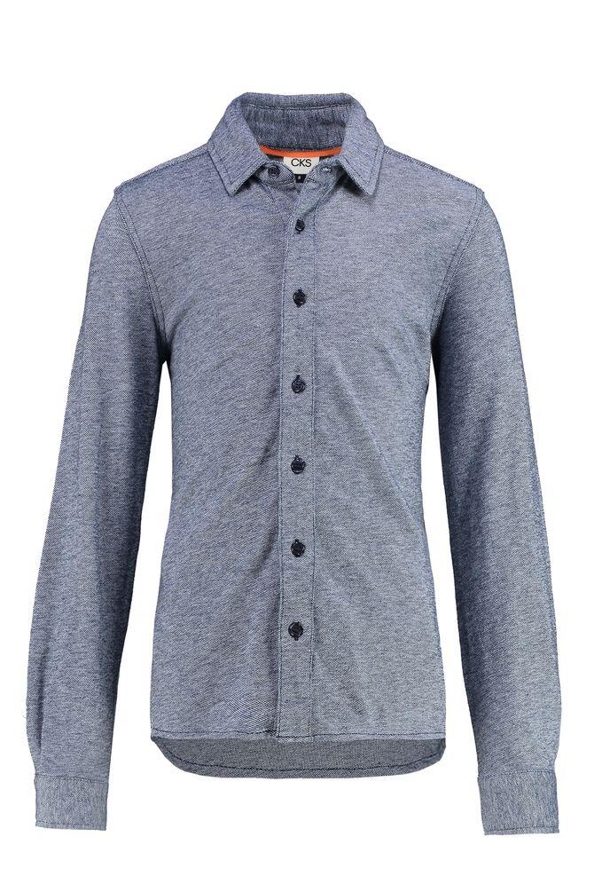 CKS KIDS - YORICK - Shirt long sleeves - blue