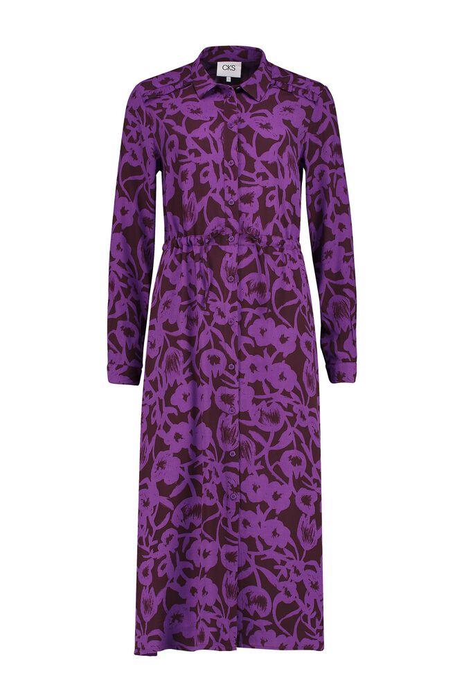 CKS WOMEN - MAXIMA - Lange jurk - paars